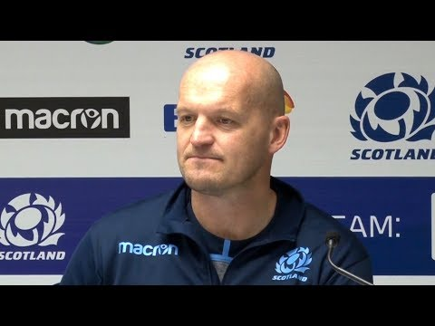 Scotland v Fiji - Gregor Townsend & Greig Laidlaw Post Match Press Conference