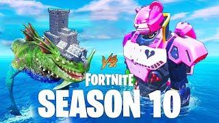 Fortnite - Robot vs Monster Event Trailer (Season 10)