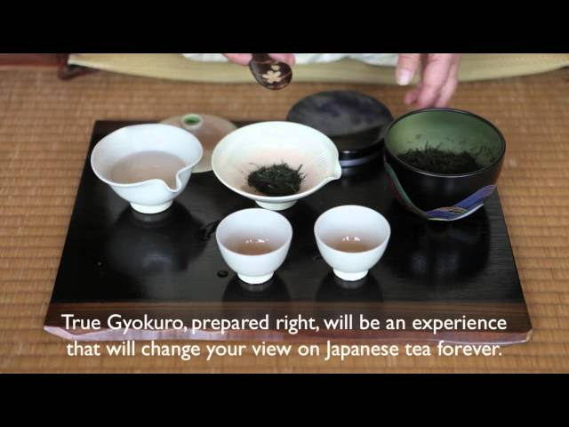 How to brew Gyokuro tea