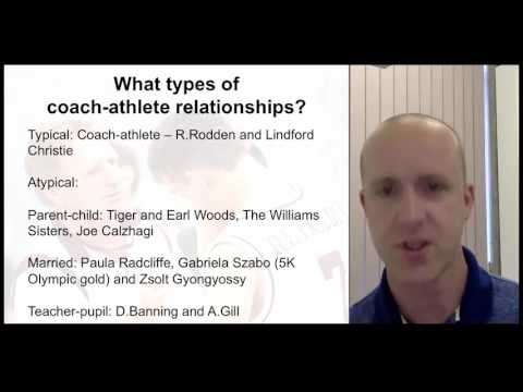 Coach-athlete relationships in sport psychology