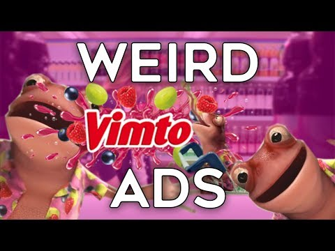 Weird Vimto Commercials | The Vimtoad And More