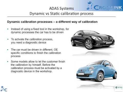 ADAS Calibration Equipment - Crosslink Solutons Limited