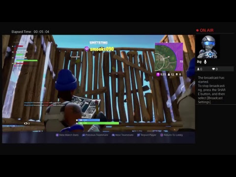 Today i play fortnite with henry and with some friend