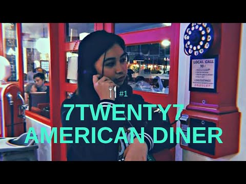 7twenty7 american diner food travel nica x zelly x deyl youtube. Black Bedroom Furniture Sets. Home Design Ideas