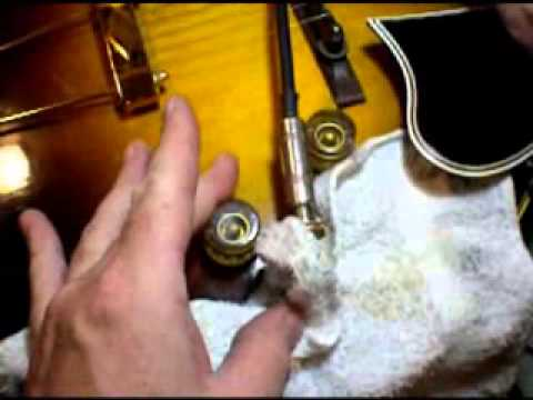 repair replace input jack on hollow body or acoustic guitar youtube. Black Bedroom Furniture Sets. Home Design Ideas