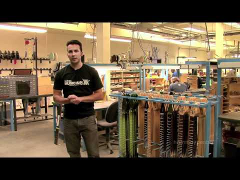 Ernie Ball Music Man Factory Tour part 2