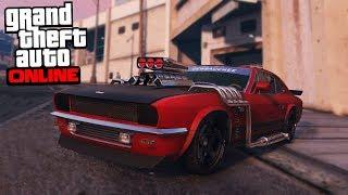 GTA 5 Smuggler's Run DLC - BEST MUSCLE CAR
