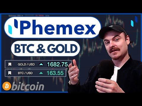 Phemex Exchange - Trade Bitcoin & Gold On Leverage! - Tutorial & Review (How To Get Started)