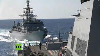Moscú acusa al destructor de EE.UU. por acercarse a un barco ruso