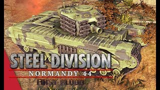 Herr Robert's GT Grand Final! Player vs Fussel, Game 2 - Steel Division: Normandy 44
