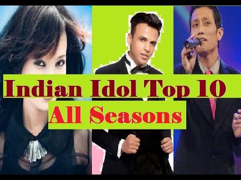 Indian Idol Top 10 Contestants | All Seasons 2017