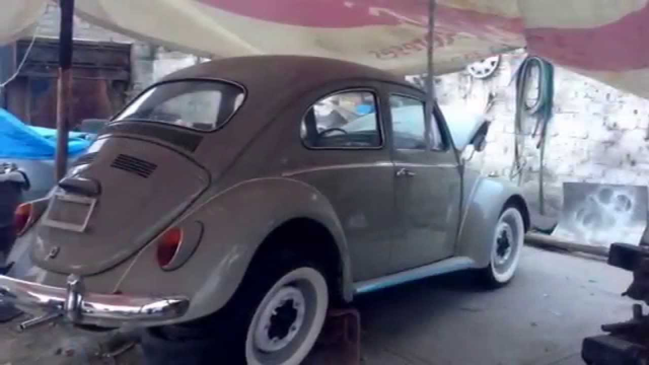 Vw bug beetle vocho 1970 restoration Mexico classic ancvm restauración - YouTube