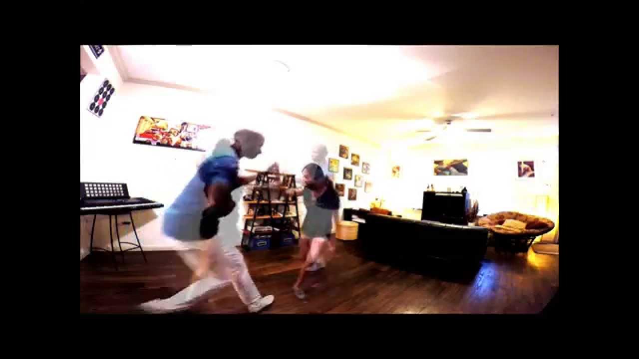 Salsa dancing - Derik and Mariangel - LRI