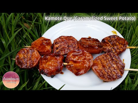 Kamote Que (Caramelized Sweet Potato)