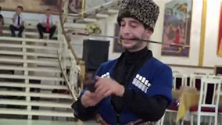 Лезгинка.мощный танец с кинжалами на свадьбе Тайм дэнс