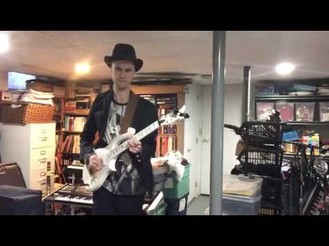 """Cloud Guitar (Prince) Shred - """"Torn in Two"""" (Andy James Backing Track)"""