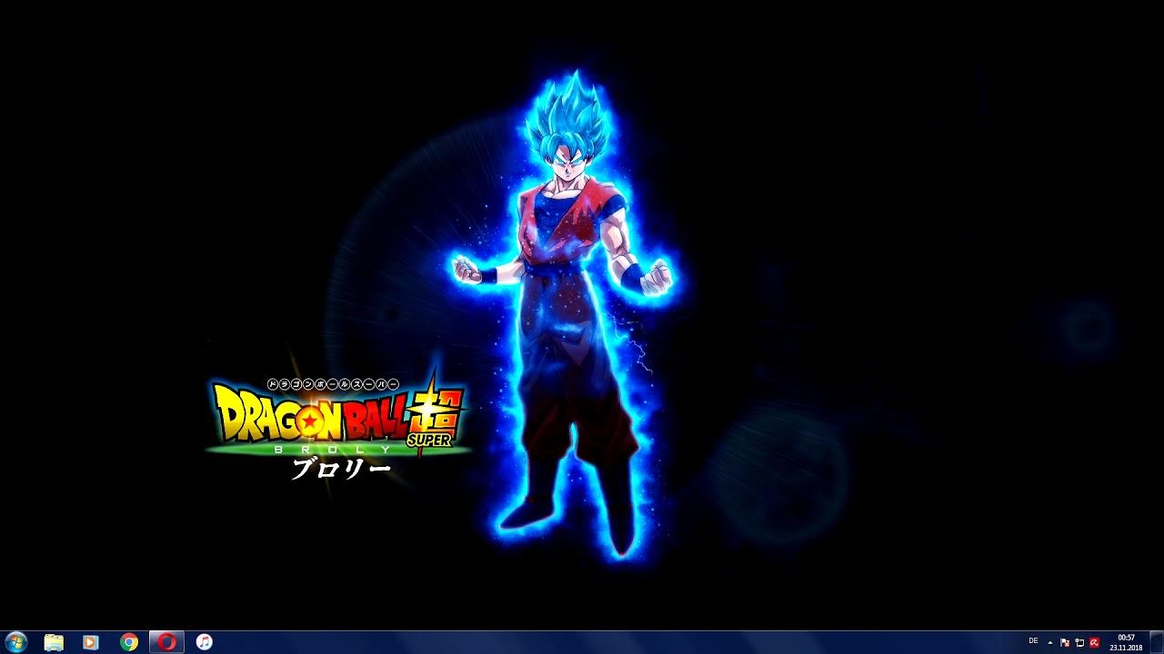 Dragon Ball Super Broly Son Goku Ssb Live Wallpaper 4k Youtube
