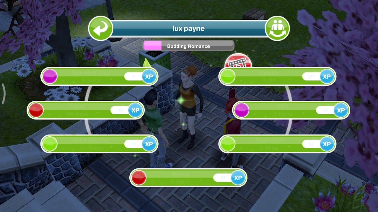 how to start dating on sims freeplay