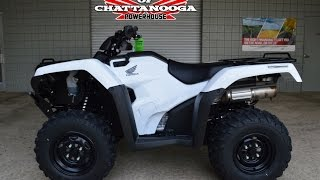 2016 Rancher 420 AT / DCT / IRS ATV Review of Specs - Honda of Chattanooga - TRX420FA5G