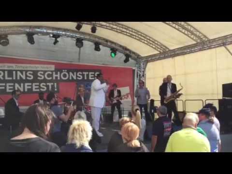 Keith Tynes am Tempelhofer Hafenfest 2017