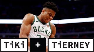 Will Giannis Get Tired Facing The Celtics? | Tiki + Tierney