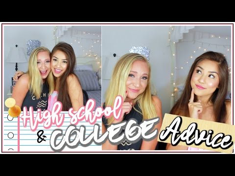 HIGH SCHOOL & COLLEGE ADVICE ♡ LIFE, SCHOOL, FRIENDS, BOYS & EVERYTHING YOU NEED TO KNOW!