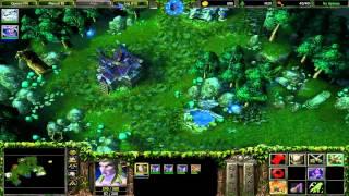 Warcraft 3 RoC Hard - Night Elf 4 - The Druids Arise