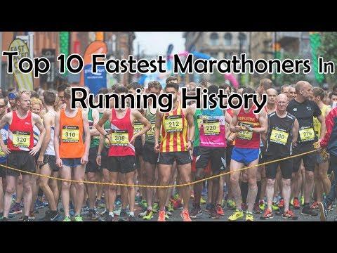 Top 10 Fastest Marathoners In Running History● HD ●
