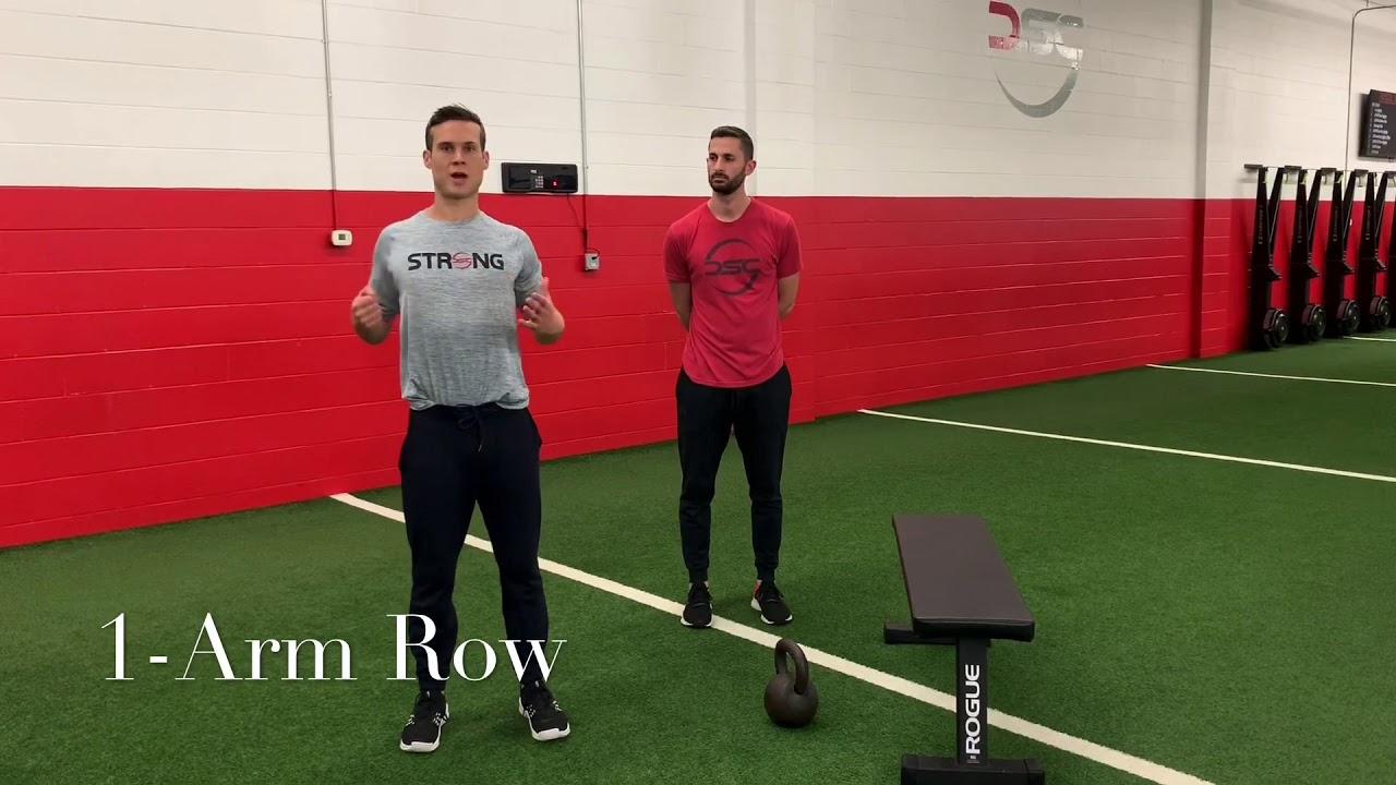 1-Arm Row