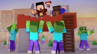 Minecraft: CONSTRUINDO A BASE - APOCALIPSE Ep.5 ‹ AMENIC ›