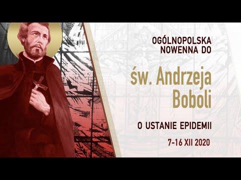 Dzień 9 | Ogólnopolska Nowenna do Św. Andrzeja Boboli (15.12.2020)