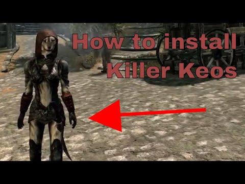 Skyrim | How to install Killer Keos Skimpy Armor Replacer
