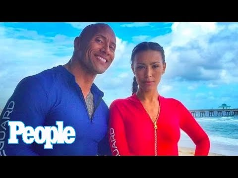 Baywatch: Ilfenesh Hadera On Dwayne Johnson Advice, Fiancé Reaction To Kiss | People NOW | People