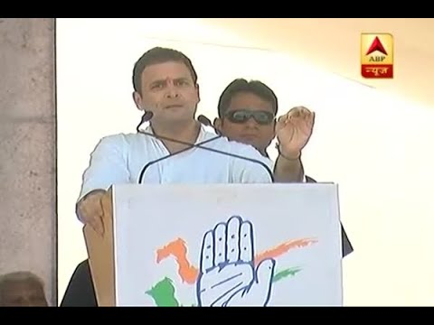 Congress Vice President Rahul Gandhi conducts roadshow in Bharuch, Gujarat