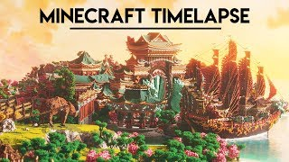 Minecraft Timelapse Ep. 8 | Xin Tiantang - Part III : Dragon's Sanctuary | NewHeaven