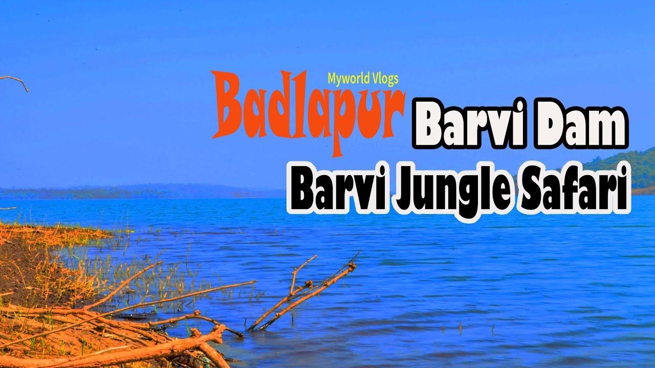 barvi dam badlapur best picnic spot youtube