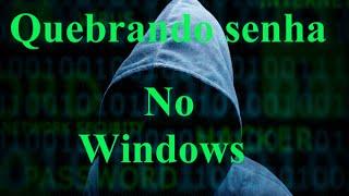 Quebrando senha e criando usuário no Windows via Prompt de comando