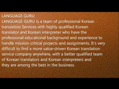 Korean Interpreter,Translator in Baddi