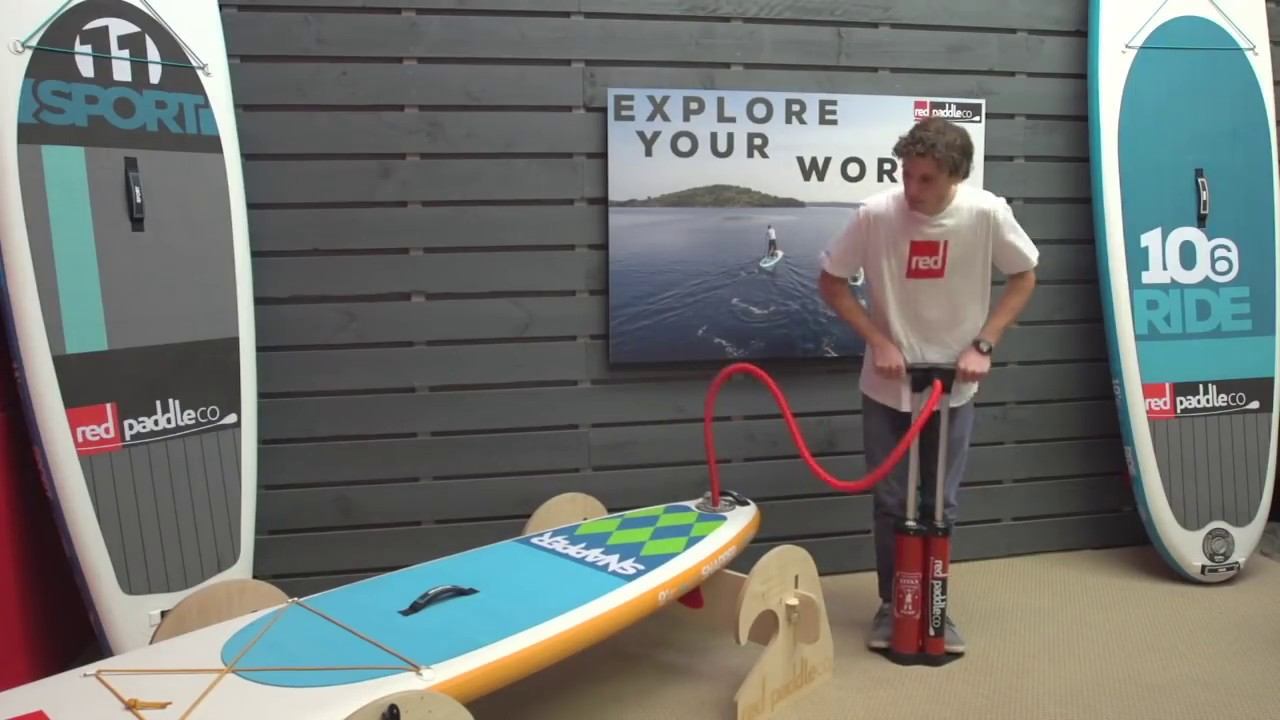 25953f35e9b3 How To Pump Up Your Inflatable Paddleboard Like A Pro - YouTube