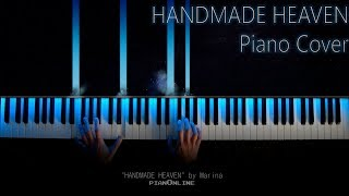 Handmade Heaven - Marina/ Piano Cover / Tutorial / Lyrics Karaoke