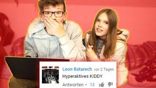 Auf HATE KOMMENTARE reagieren mit meiner SCHWESTER... (schockiert) - Daily Vlog 74