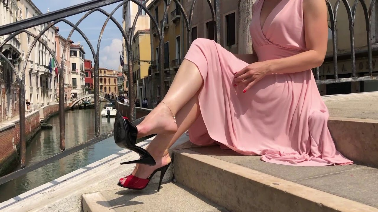 Bupshi - Venice in high heel mules