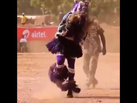 Crazy fast tribal dance