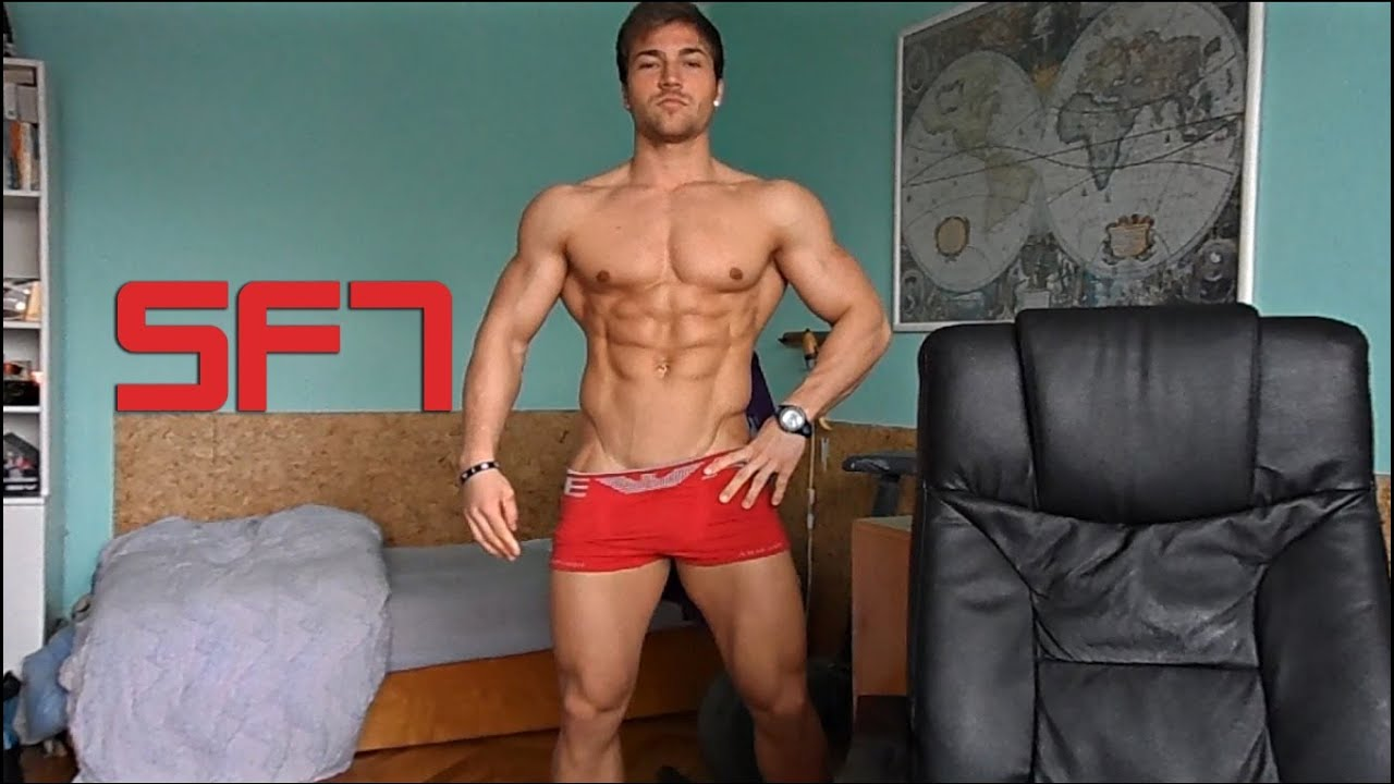SF7 Steflovic Filipo - Posing and Flexing/ Men's physique