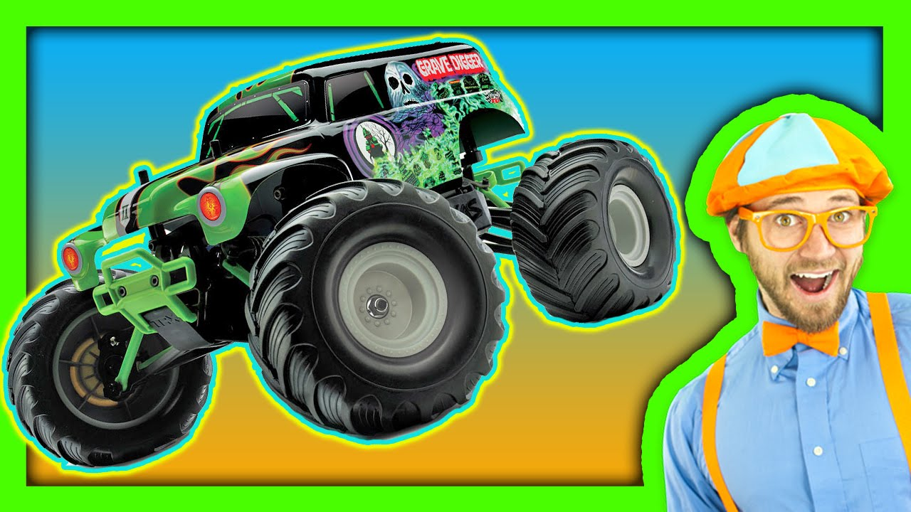 monster trucks for children youtube. Black Bedroom Furniture Sets. Home Design Ideas