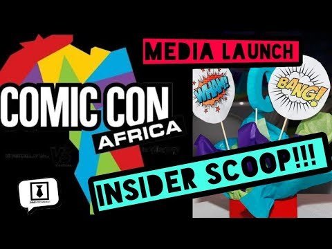 The Great Trek To COMIC CON AFRICA Part 1  - THE OFFICIAL LAUNCH