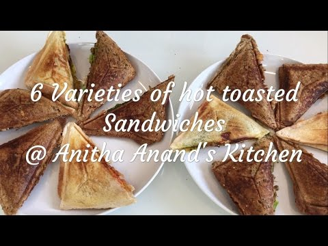 6 Varieties of Hot Toasted Sandwiches - Tamil Commentary - 1080p Full HD
