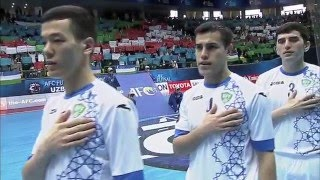 Video UZBEKISTAN vs THAILAND: AFC Futsal Championship 2016 (Semi Finals) download MP3, 3GP, MP4, WEBM, AVI, FLV Juli 2018