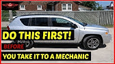 2010 JEEP PATRIOT CVT TRANSMISSION PROBLEM? CODE U0101 (PART 5