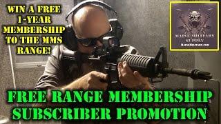 Win a Free Range Membership Package